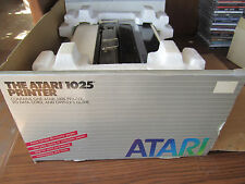 Vintage ATARI 1025 PRINTER In Partial Box UNTESTED Does Power Up