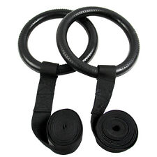 Portable Gymnastics Olympic Rings Shoulder Strength Training Gym Ring Crossfit