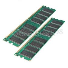 2GB 2 x 1G PC3200 DDR400 184 Pin DIMM Memory RAM High Density For AMD Desktop PC