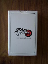 ZAP CASINO DECK OF SEALED PLAYING CARDS.(SEALED=NEW & MINT).