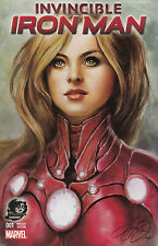 INVINCIBLE IRON MAN 1 VOL 2 RARE SIYA OUM PHANTOM COLOR VARIANT