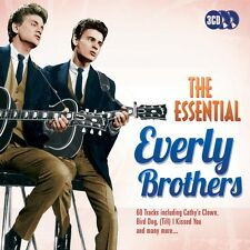 3 CD BOX ESSENTIAL EVERLY BROTHERS WAKE UP LITTLE SUSIE CATHY'S CLOWN TILL I KIS
