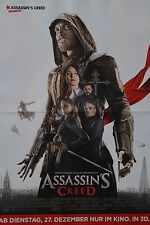 ASSASSIN´S CREED - A3 Poster (ca. 42 x 28 cm) - Film Plakat Clippings NEU