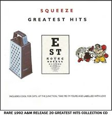 Squeeze - The Very Best 20 Greatest Hits Collection - RARE CD 80's Pop