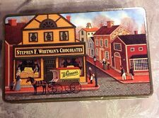 Whitman's 1994 Chocolate Tin Box  The Candy Shoppe Made In USA