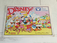 ALBUM PANINI DISNEY SHOW 1985 INCOMPLET DESSIN ANIME 73 STICKERS DISNEY CHANNEL