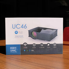New Mini Home UC46 Theater Portable Lcd Projector HD1080p Wifi DLNA Android WIN