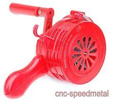 Rote Handsirene 110db mit Tasche Alarmanlage Alarmsirene Sirene Luftschutz