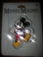 New Vintage Mickey Mouse Magnet Original Packaging From The Walt Disney Company