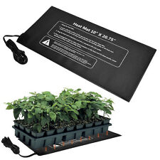 """Seedling Heat Mat Seed Starter Germination Clone Sprout Warm Pad 10""""x20.75"""" 21W"""