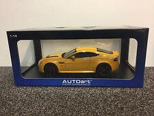Aston Martin V12 Vantage S 2015 Yellow Tang 1:18 AUTOart