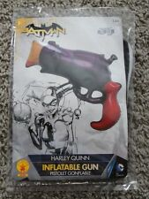 HARLEY QUINN INFLATABLE GUN PISTOL BATMAN JOKER NEW SUICIDE SQUAD DC COSPLAY