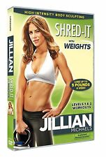 Jillian Michaels: Shred It With Weights [DVD] NEU Fitness