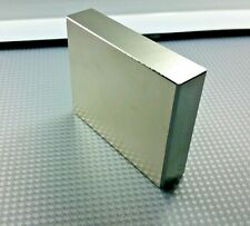 "1 Huge Neodymium Magnets. Super Strong Rare Earth N52 grade 3"" x 2.3"" x .65"""