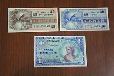 MPC Series 661 Lot Military Currency