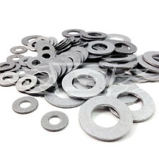 50 x ALUMINIUM WASHER KIT M3, M4, M5, M6, M8, M10, LIGHTWEIGHT RACE BIKE PROBOLT