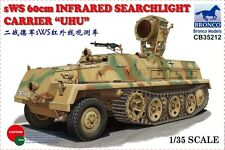 "Bronco 1/35 35212 sWS 60cm Infrared Searchlight Carrier ""UHU"""