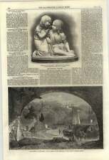 1861 Charming Artwork Reminiscence Of The Rhine R P Leitch, A Munro Sculpture