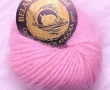 Md Pink CHERRY BLOSSOM Galler BELANGOR 100% ANGORA Rabbit Fur X-SOFT Luxury Yarn