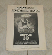 original AMITYVILLE 3-D ADVERTISING MANUAL pressbook Tony Roberts Robert Joy