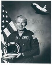 1994 Space Shuttle Astronaut Vance Brand Press Photo