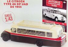 1:43 Autobus Collection Citroen Type 46DP UAD 1955