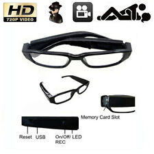 Mini HD 720P Glasses Hidden Camera Eyewear DVR Video Recorder Spy Camcorder