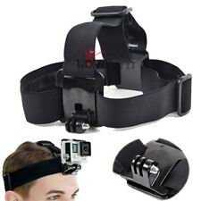 For GoPro Hero 1/2/3/3+/4 Adjustable Head Strap Head Mount Accessory New