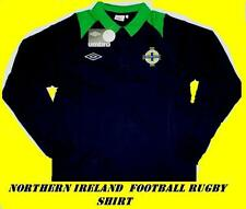 Morthern Irlanda Manica Lunga Stile Rugby Camicia Pacchetto/tag XLB
