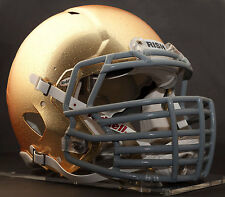 ***CUSTOM*** NOTRE DAME FIGHTING IRISH Riddell SPEED Football Helmet