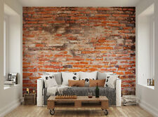 ohpopsi Dirty Old Red Brick Wall Mural