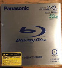 Panason Video Blu-ray BD-RE Disc Rewritable BS 270 50G NEW SEALED FREE SHIPPING