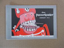 Wehrmacht Panzer Fibel Der Panzerknacker Anleitung f. Panzernahkampf