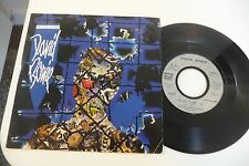 """DAVID BOWIE 45T BLUE JEAN / DANCING WITH THE BIG BOYS. 7"""" EMI FRENCH PRESS."""