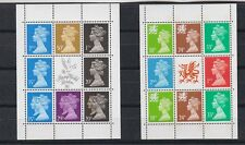 three pages from the booklet MNH     f418