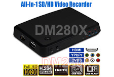 Premium Stand Alone Digital HDMI HD Componet Composite RCA DVR 1080p Recorder