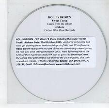(GN175) Hollis Brown, Sweet Tooth - 2015 DJ CD