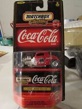 Matchbox Collectibles Coca-Cola 1932 Ford Coupe Red