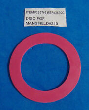 REPAIR DISC FOR MANSFIELD #210 FLUSH VALVE WASHER SEAT SEAL RED PARTS