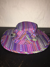 Obey Gaucho Multi Color Bubble Bucket Hat One Size Men's BRAND NEW!