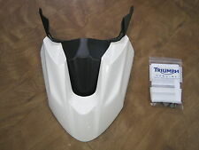 TRIUMPH TIGER 800   HIGH LEVEL FRONT MUDGUARD WHITE A9708212-NW ONLY £75