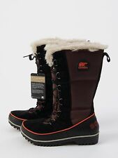 NEW Women's SOREL Tivoli High II BOOTS Madder Brown WATERPROOF Size 9 Snow Shoes