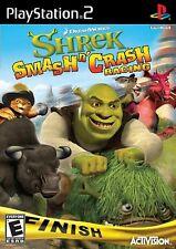 Shrek Smash n' Crash (PlayStation 2) – Complete
