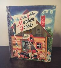 Vinage The Little Golden Book Mother Goose 1972 with 75 Favorite Rhymes