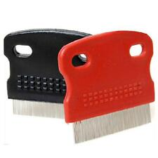New Dog Cat Hair Brush toothed Grooming Steel Fine Flea Pet Supply Tool  Comb