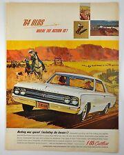 1964 Olds Oldsmobile F-85 Cutlass ORIGINAL Vintage Ad ~ Large Size ~ Full Color