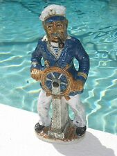 """Vintage 1978 Nautical Captain Decanter Chianti Wine Product of Italy 16"""""""