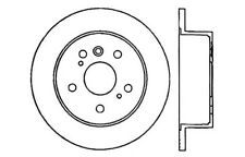 Disc Brake Rotor-High Performance Drilled And Slotted fits 04-08 Toyota Sienna
