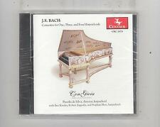 (CD) Bach: Concertos for One, Three and Four Harpsichords / Con Gioia / SEALED