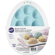 Easter Egg Bite-Size Silicone Treat Mold 12 Cavities from Wilton 5719 - NEW